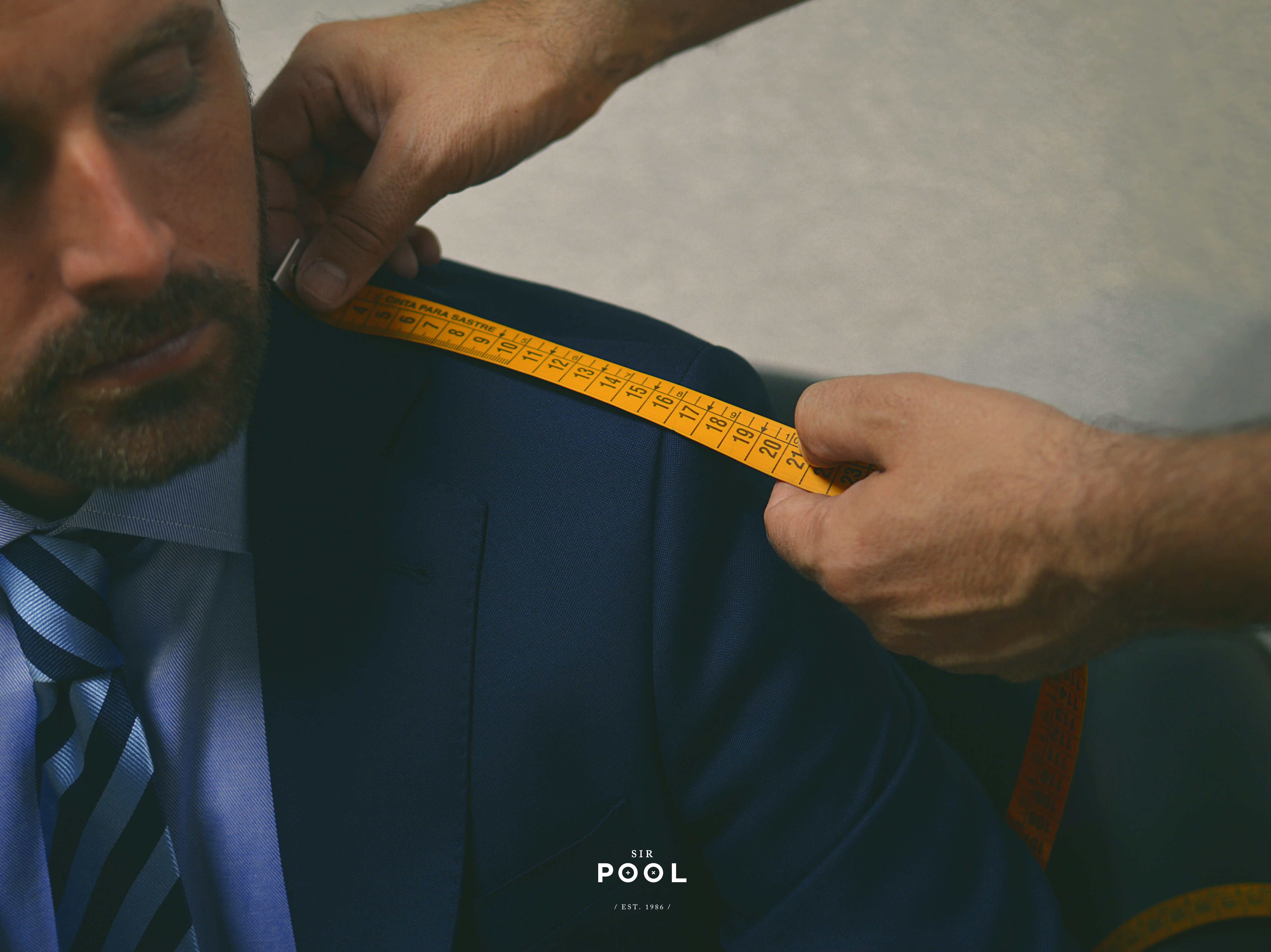 Toma de medidas Sir Pool